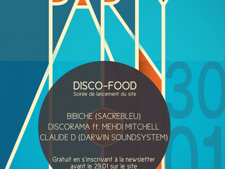 SACREBLEU PARTY DISCO-FOOD
